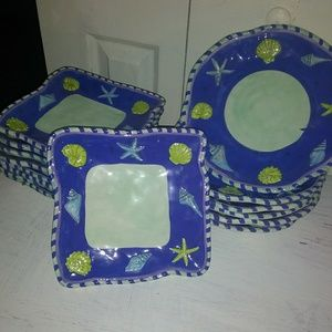 Other - 15 PC hand painted plates